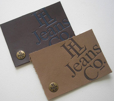 Leather Hang Tags