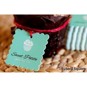 Bubble Square Tags
