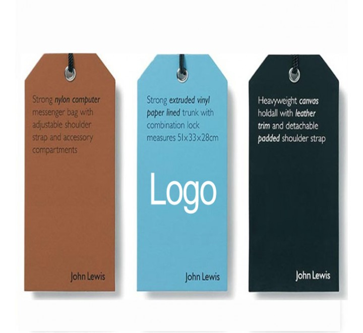 Die Cut Logo Hang Tags