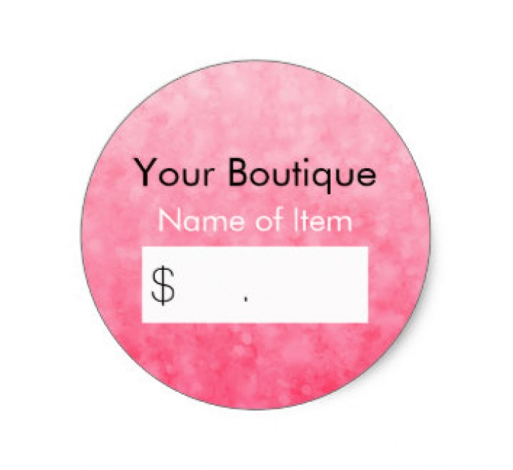 Custom Retail Tags
