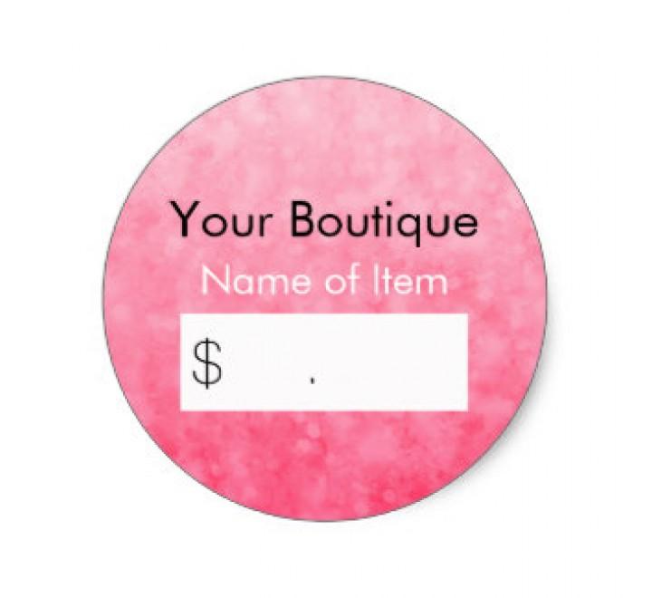 Custom Retail Tags