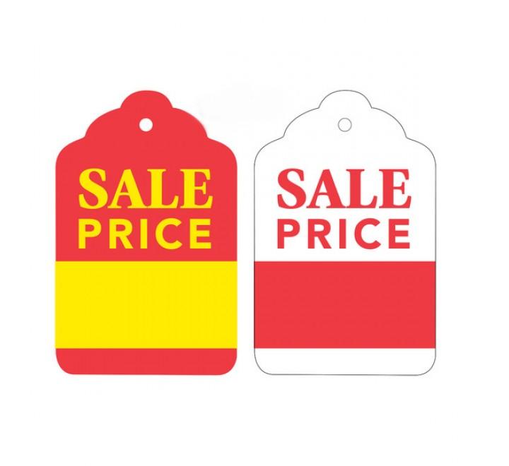 Die Cut Sale Tags