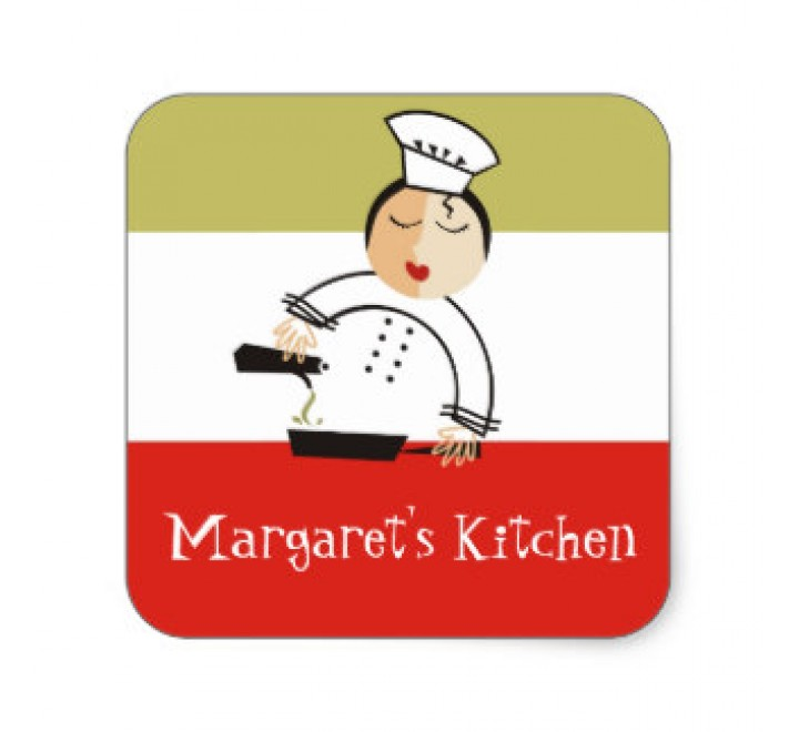 Square Kitchen Supplies Tags
