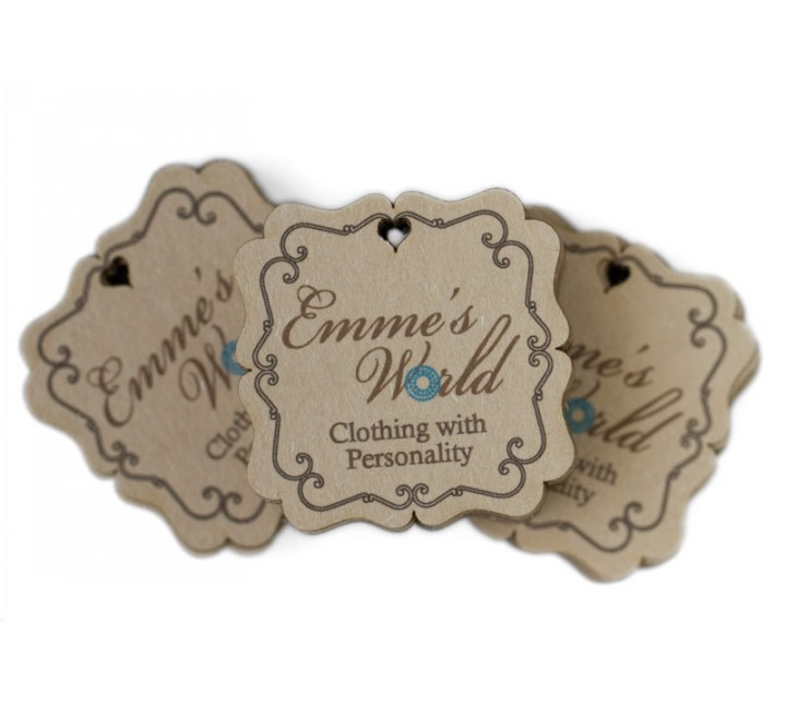 Square Jewelry Tags