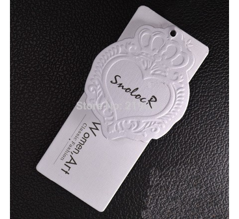 Custom Waterproof PVC Hang Tags