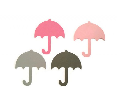 Die Cut Umbrella Tags