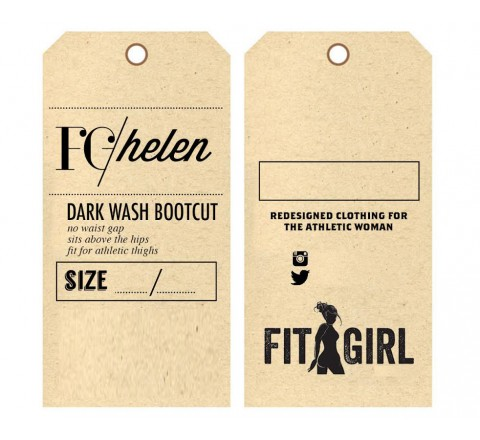 Rectangular Bags Tags