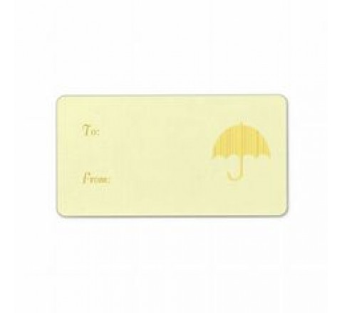 Rectangular Umbrella Tags