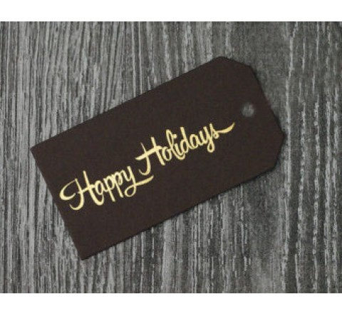 Rectangular Art Paper Hang Tags