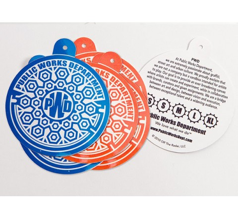 Round Clothing Tags