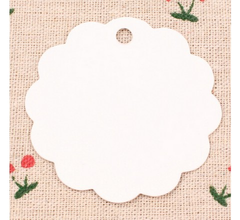 Round Gift Hang Tags