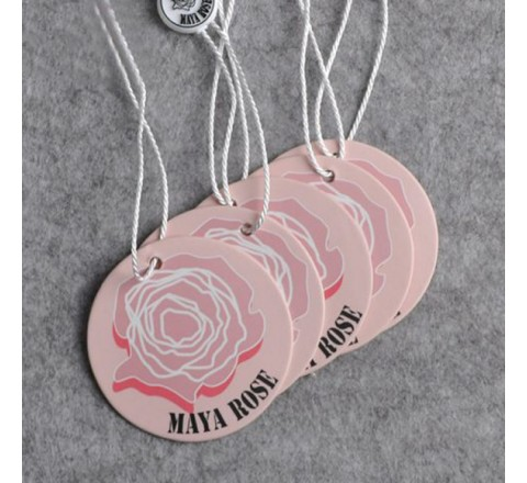 Round Plastic Hang Tags