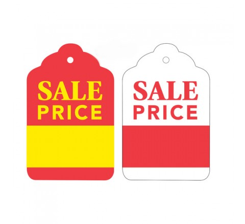 Die Cut Sale Tags