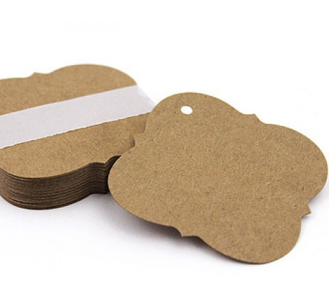 Square Tear-off Tags