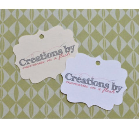 Square Logo Hang Tags