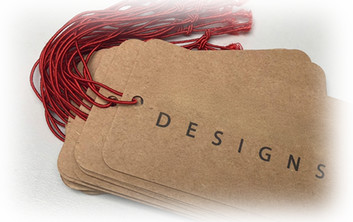 Swing Tags | Personalized Hang Tags | Swing Tags Printing UK